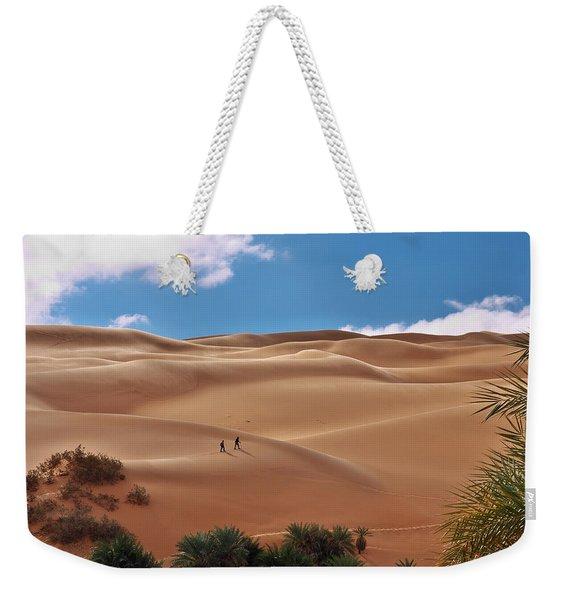 Over The Dunes Weekender Tote Bag