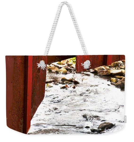 Overhang Weekender Tote Bag