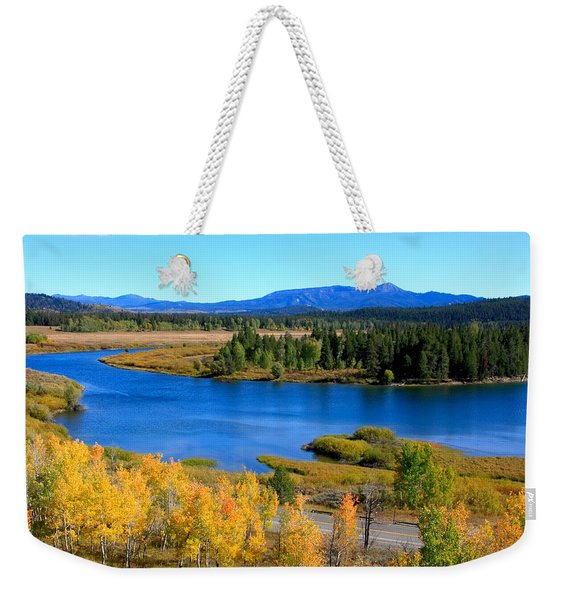 Oxbow Bend, Grand Teton National Park Weekender Tote Bag