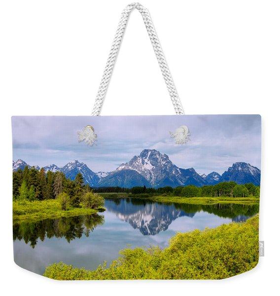 Oxbow Summer Weekender Tote Bag