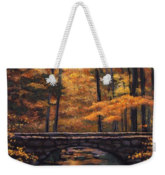 Ozark Stream Weekender Tote Bag