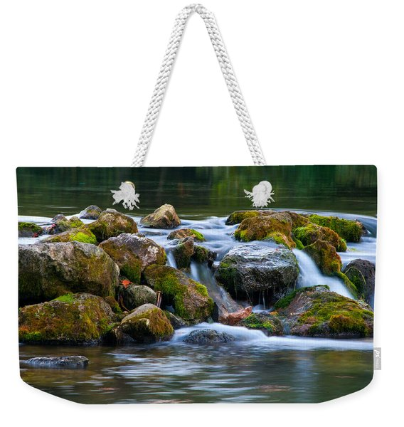 Ozark Waterfall Weekender Tote Bag