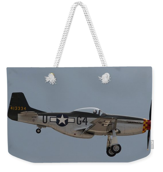 P-51 Landing Configuration Weekender Tote Bag