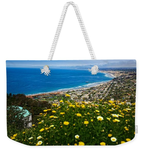 Pacific View Weekender Tote Bag