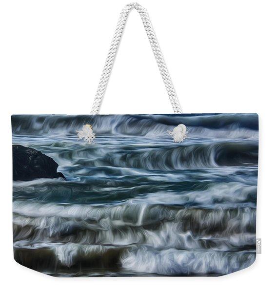 Pacific Waves Weekender Tote Bag
