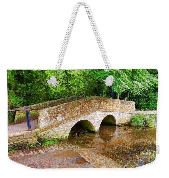 Pack Horse Bridge Weekender Tote Bag