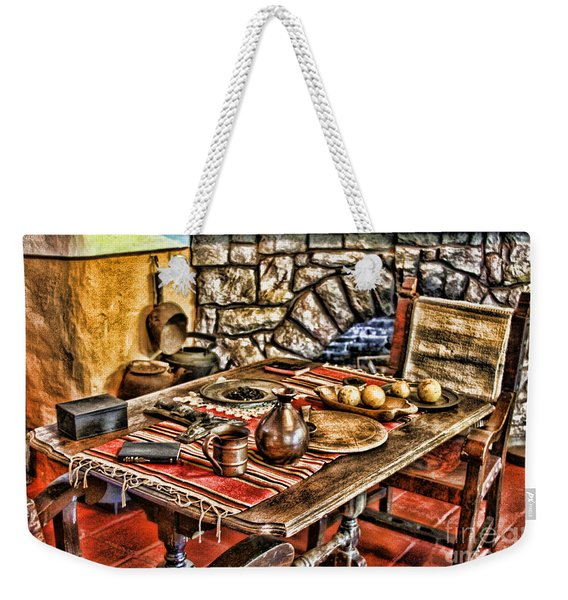 Padre's Table By Diana Sainz Weekender Tote Bag