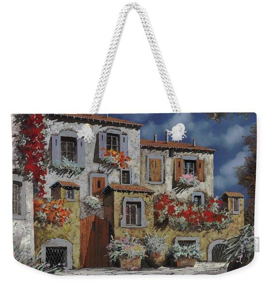 Paesaggio Al Chiar Di Luna Weekender Tote Bag