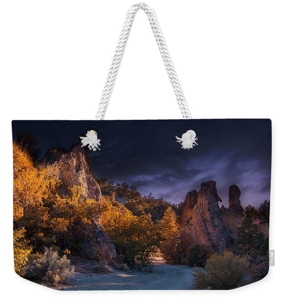 Pahrump - Road To Wheeler Peak Weekender Tote Bag