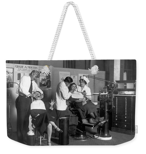 Painless Modern Dentistry Weekender Tote Bag
