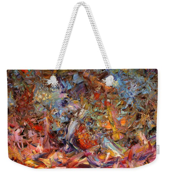 Paint Number 43a Weekender Tote Bag