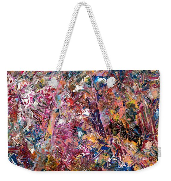Paint Number 49 Weekender Tote Bag