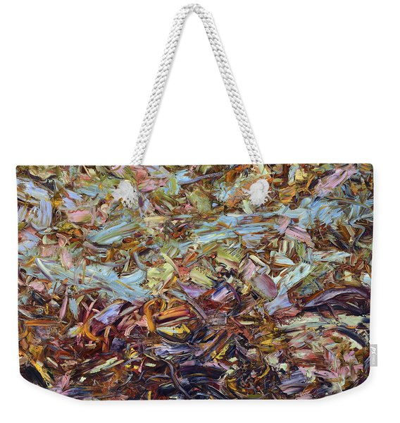 Paint Number 51 Weekender Tote Bag