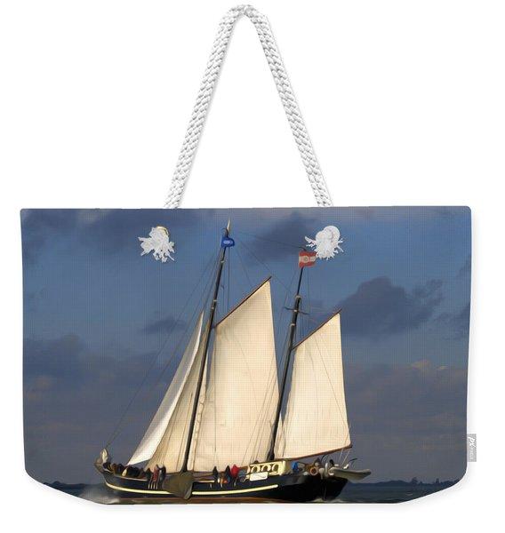 Paint Sail Weekender Tote Bag