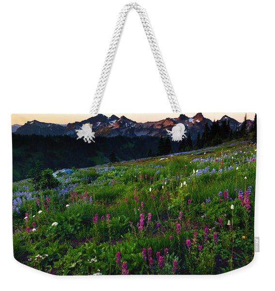 Paintbrush Sunrise Weekender Tote Bag