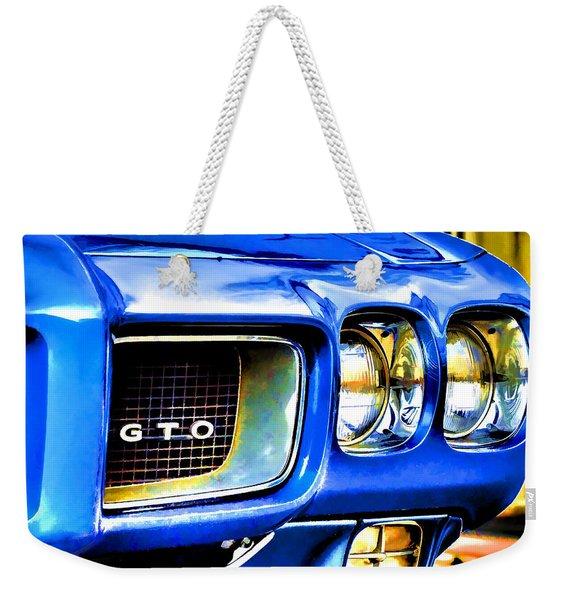 Painted Pontiac Weekender Tote Bag