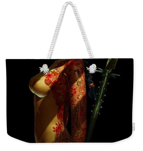 Painted Risk 3 Weekender Tote Bag