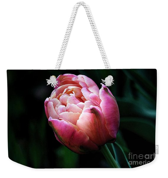 Painted Tulip Weekender Tote Bag