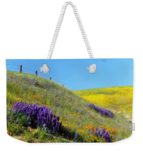 Painted With Wildflowers Weekender Tote Bag