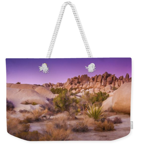 Painterly Desert Weekender Tote Bag