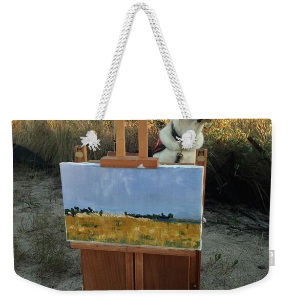 Come Paint With Me  Weekender Tote Bag