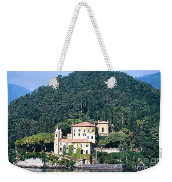 Palace At Lake Como Italy Weekender Tote Bag