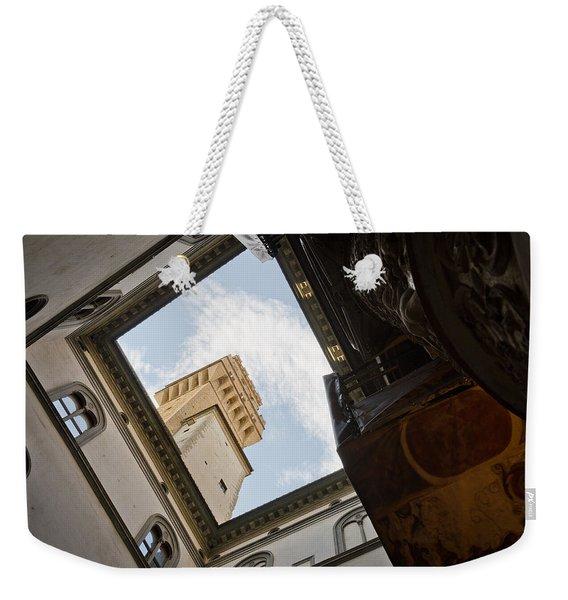 Palazzo Vecchio Weekender Tote Bag