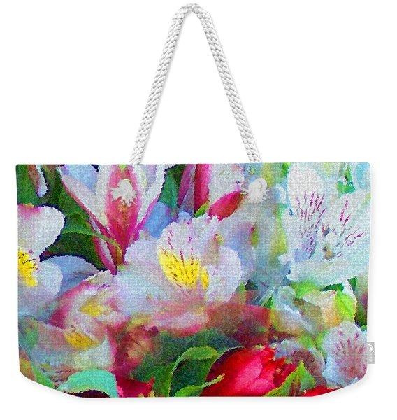 Palette Of Nature Weekender Tote Bag