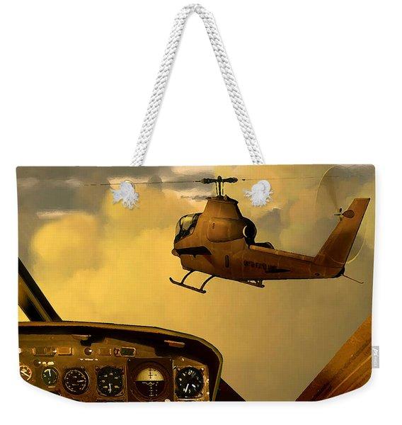 Palette Of The Aviator Weekender Tote Bag