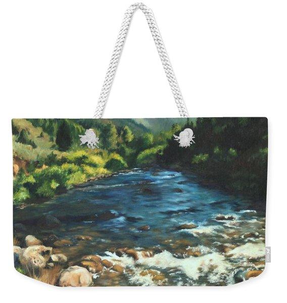 Palisades Creek  Weekender Tote Bag