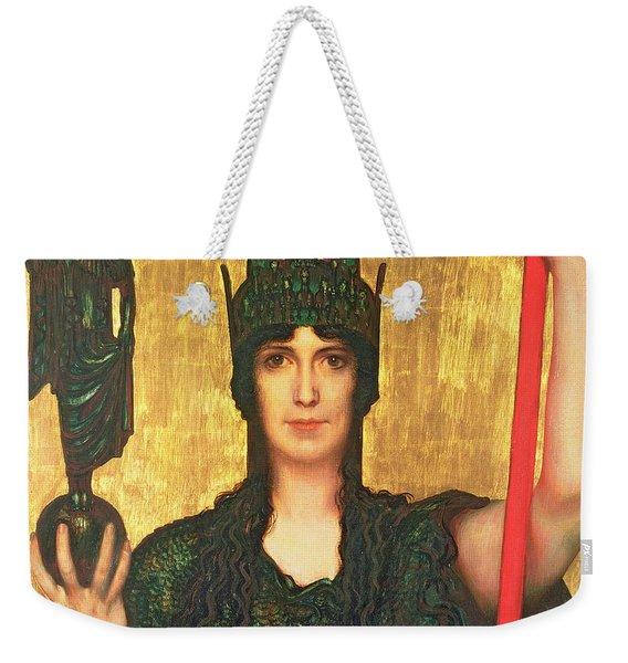 Pallas Athena Weekender Tote Bag
