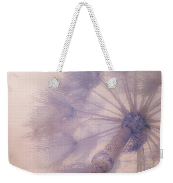 Palm Haze Weekender Tote Bag