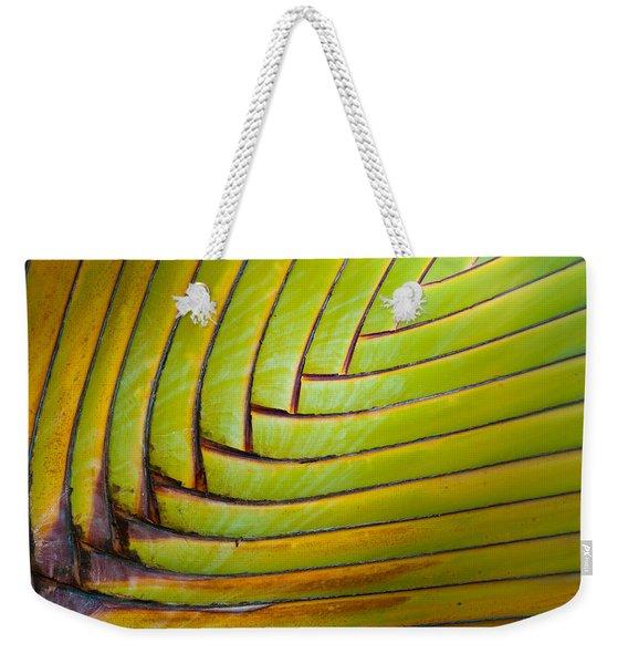 Palm Tree Leafs Weekender Tote Bag