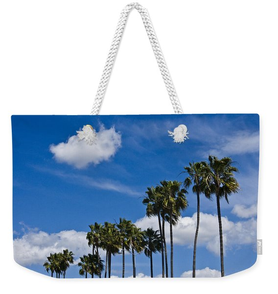 Palm Trees In San Diego California No. 1661 Weekender Tote Bag