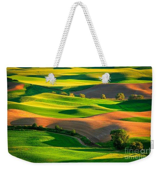 Palouse Fields - June Weekender Tote Bag