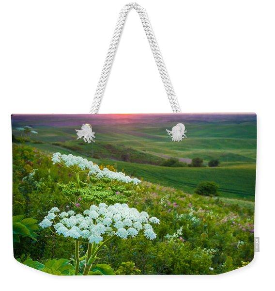 Palouse Flowers Weekender Tote Bag