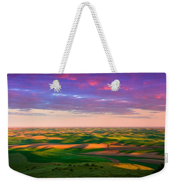 Palouse Land And Sky Weekender Tote Bag