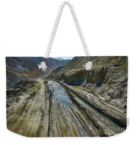 Pamir Alay Road Weekender Tote Bag
