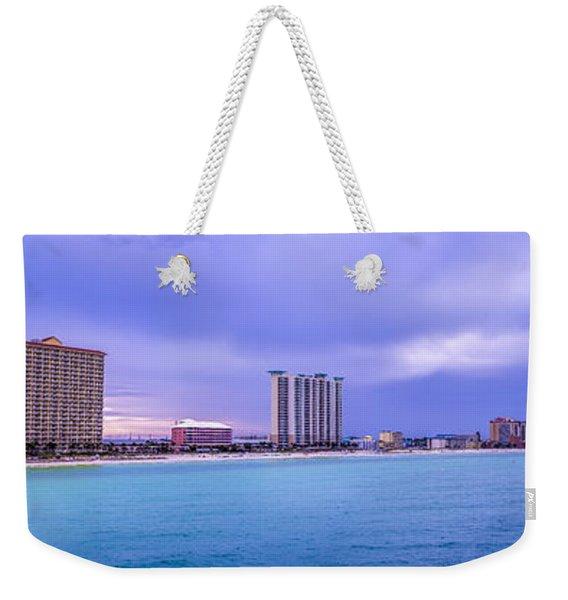 Panama City Beach Weekender Tote Bag