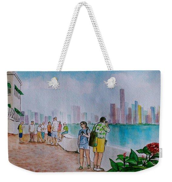 Panama City Panama Weekender Tote Bag