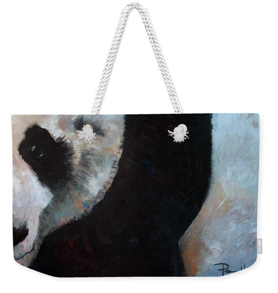 Panda Weekender Tote Bag