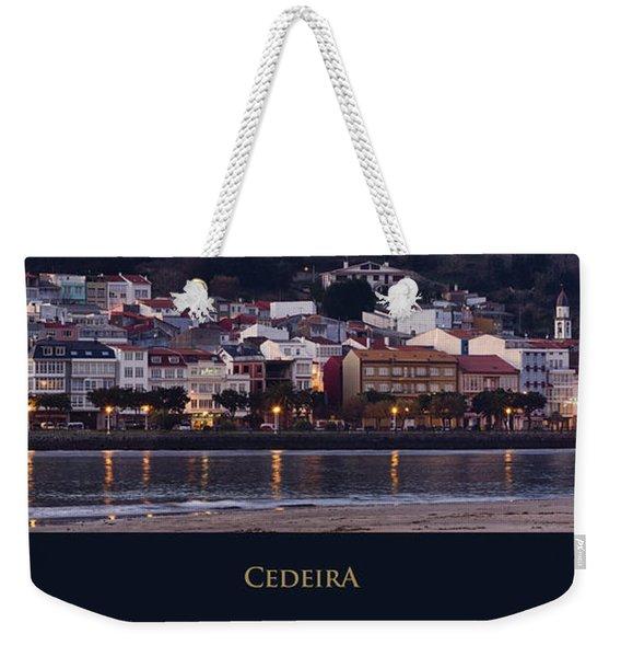 Panorama Of Cedeira Galicia Spain Weekender Tote Bag