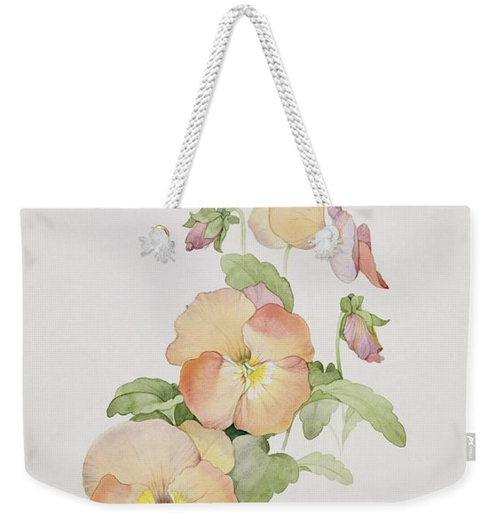 Pansy Hybrids Bambini Weekender Tote Bag