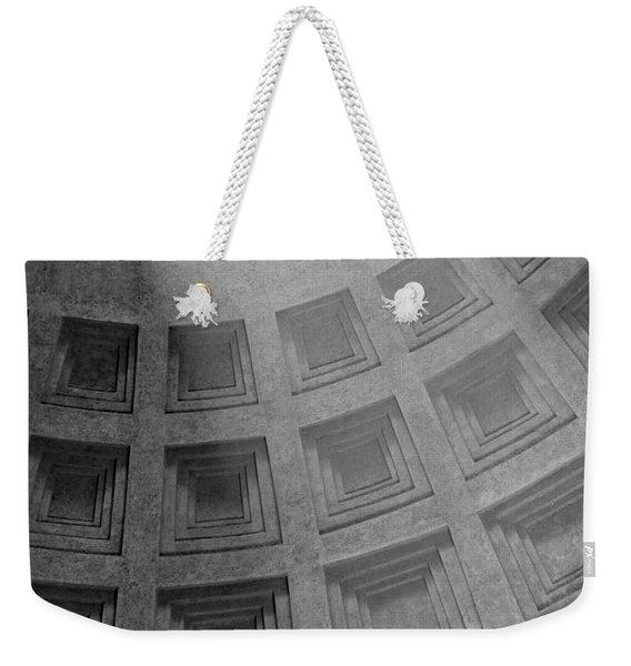 Pantheon Ceiling Weekender Tote Bag