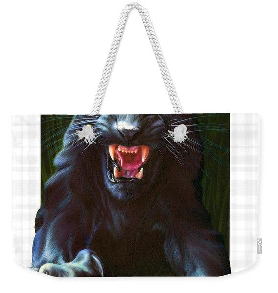 Panther Attack Weekender Tote Bag