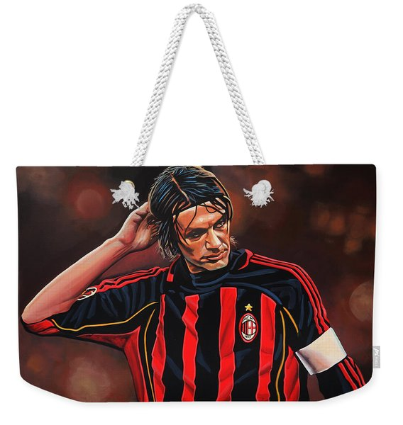Paolo Maldini Weekender Tote Bag