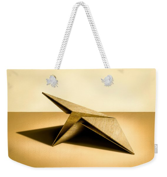 Paper Airplanes Of Wood 7 Weekender Tote Bag