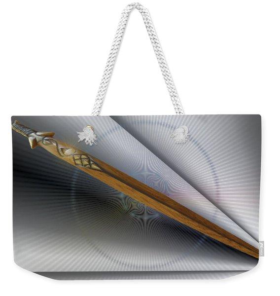 Paper Cut Weekender Tote Bag