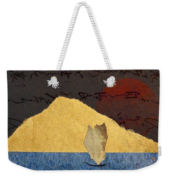 Paper Sail Weekender Tote Bag