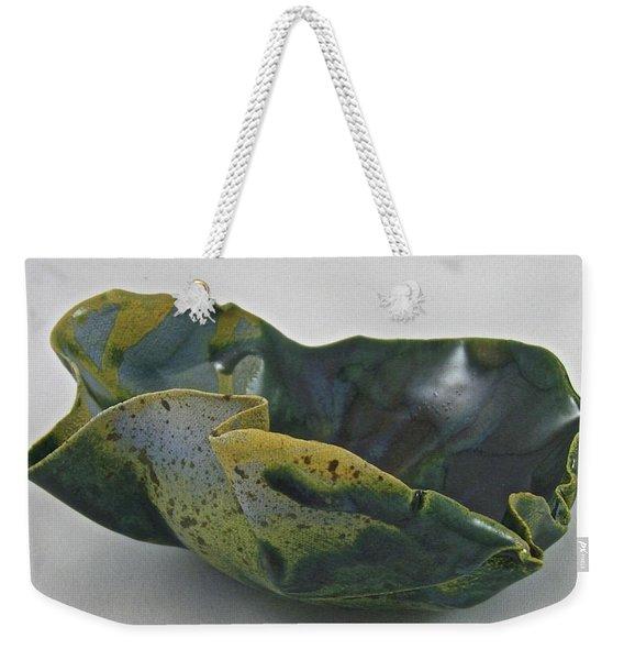 Paper-thin Bowl 09-015 Weekender Tote Bag